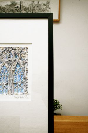 Sagrada framed