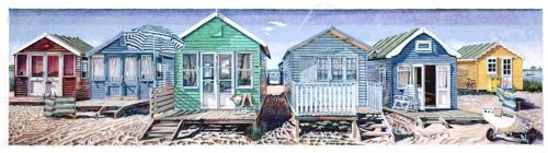 Beach Huts - Mudeford